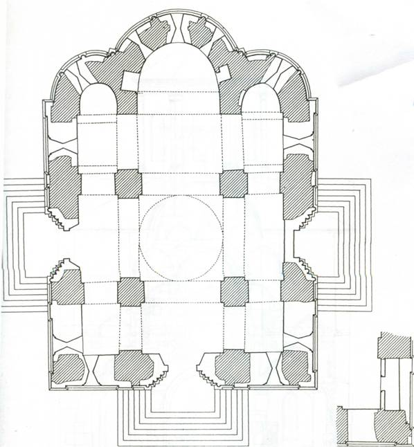 План Спасского собора: