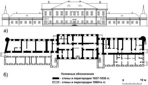 чертежа И.И. Межецкого