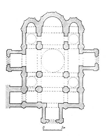План Успенского собора Андрея