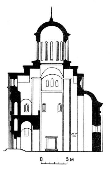 Пятницкая церковь в Чернигове.